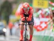 Michael Matthews, im Bild während der Tour de Suisse diesen Sommer, gewann wie im Vorjahr den Grand Prix von Québec (Bild: KEYSTONE/URS FLUEELER)