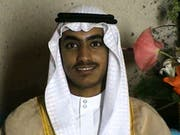 Hamsa bin Laden wurde bei einem Anti-Terror-Einsatz «in der Region Afghanistan/Pakistan» getötet, wie das Weisse Haus am Samstag mitteilte. (Bild: KEYSTONE/AP CIA)
