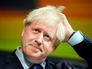 In Grossbritannien hat sich erneut ein Parteimitglied von Boris Johnson abgewendet. (Bild: KEYSTONE/AP GETTY POOL/CHRISTOPHER FURLONG)