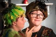 Der Thurgauer Comedyexpress führt «Die Zauberflöte und andere Katastrophen» in der Gewürzmühle auf. (Bild: Christian H. Hildebrand, Zug, 14. September 2019)