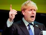 Der britische Regierungschef Boris Johnson gibt sich am Samstag optimistisch für ein Brexit-Abkommen mit der EU. (Bild: KEYSTONE/AP GETTY POOL/CHRISTOPHER FURLONG)