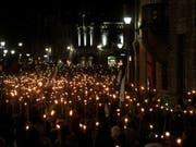 In Estland sind am Samstag zahlreiche Menschen gegen die Regierung auf die Strasse gegangen. (Archiv-/Symbolbild) (Bild: KEYSTONE/EPA/VALDA KALNINA)