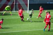 Die Chancen des offensiv aufspielenden SC Brühl hätten am Samstag in Sion eigentlich für zwei Siege reichen müssen. Am Schluss siegte der FC Sion II aber doch mit einem Tor Vorsprung. (Bild: SC Brühl)
