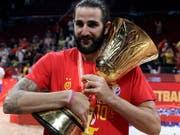 Der Spanier Ricky Rubio war der MVP des Finals und des ganzen WM-Turniers (Bild: KEYSTONE/AP/MARK SCHIEFELBEIN)