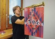 Gespannt auf den Bolivien-Trip: Musiklehrer und Leiter der Big Band Kanti Wattwil Martin Winiger. (Bild: Michael Hug)