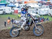 Jeremy Seewer beendet die Motorrad-WM-Saison im 2. Rang (Bild: KEYSTONE/URS FLUEELER)