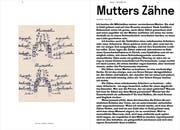 Stefan Keller: Mutters Zähne (Bild: «Mauerläufer» Nr. 6, 2019/20)