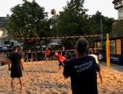 Beachvolleyball mitten in der Stadt. (Bild: PD)