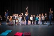 Familienkonzert des Lucerne Festival mit dem Sonus Brass Ensemble. Bild: Manuela Jans-Koch (Luzern, 14. September 2019)