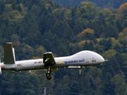 Auf die neuen Drohnen des Typs Hermes 900 muss das Schweizer Grenzwachtkorps mindestens sieben Monate länger warten als geplant. Der israelische Hersteller hat die Dauer der Zertifizierung unterschätzt. (Bild: Keystone/SIGI TISCHLER)