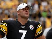 Die NFL-Saison ist für Pittsburghs Quarterback Ben Roethlisberger verletzungsbedingt vorzeitig beendet (Bild: KEYSTONE/AP/GENE J. PUSKAR)