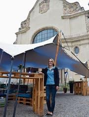 Vergangenes Wochenende wurde abgeräumt: Daniela Klaus-Zillig am Sommer im Feld. (Bild: Tobias Söldi)