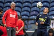 Ein Trainer und sein Problemfall: Vladimir Petkovic besucht nun Xherdan Shaqiri in Liverpool. (Bild: Freshfocus)