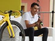 Tour-de-France-Sieger Egan Bernal verzichtet in diesem Jahr auf die Teilnahme an den Weltmeisterschaften (Bild: KEYSTONE/EPA EFE/MAURICIO DUENAS CASTANEDA)