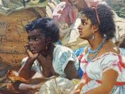 «The Song of Mary Blane»: Ein Ausschnitt aus dem Gemälde, das dem Film über den Maler Frank Buchser den Titel gab. (Bild: PD)