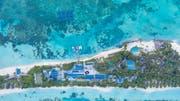 Die Insel mit dem South Ari Atoll Resort. (Bild: PD)