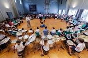 Schlagzeuge und Perkussionsinstrumente stehen dieses Wochenende im Mittelpunkt am Wettspiel in Weinfelden. (Bild: PD)