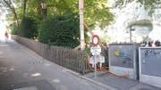 Die Plattform wird von der Denkmalstrasse aus erschlossen. (Bild: Stadt Luzern)