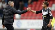 Unter Pierluigi Tami war Mariani in Lugano unumstrittener Stammspieler. Heute ist der Ex-Trainer Direktor der Schweizer Nationalteams. (Bild: Keystone)
