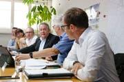 Stadtschreiber Michael Stahl und die Stadträte Dorena Raggenbass, Thomas Beringer, Thomas Niederberger, Ernst Zülle und Markus Brüllmann wollen verhindern, dass die 1,5 Millionen Franken, die bereits ausgegeben wurden, umsonst waren.