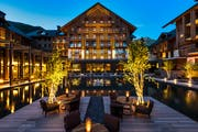 «The Chedi» in Andermatt. (Bild: PD)