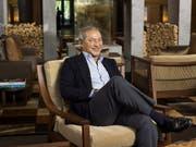 Der ägyptische Investor Samih Sawiris in seinem Luxushotel «The Chedi» in Andermatt: 2020 soll es jeden Monat schwarze Zahlen schreiben. (Bild: KEYSTONE/CHRISTIAN BEUTLER)
