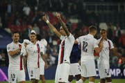 Die Spieler von Paris Saint-Germain. (Bild: AP Photo/Francois Mori)