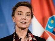 Die frühere kroatische Aussenministerin Marija Pejčinović Burić hat das Amt der Generalsekretärin des Europarats übernommen. Der Europarat, dem die Schweiz angehört, ist für Menschenrechtsfragen zuständig. (Bild: KEYSTONE/EPA/CLEMENS BILAN)
