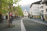 Visualisierung der Bahnhofstrasse in Küssnacht- (Bild: PD)