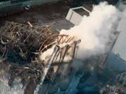 Ein Gericht in Tokio hat am Donnerstag drei Manager im Zusammenhang mit der Fukushima-Katastrophe freigesprochen. (Bild: KEYSTONE/AP Tokyo Electric Power Co. via Kyodo News)
