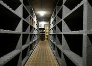 Der Weinkeller ist bereits leer. (Bild: Stefan Kaiser, Risch, 2. September 2019)