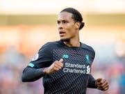 Liverpools Virgil van Dijk befindet sich auch in den Top 3 bei der Wahl zum Weltfussballer des Jahres (Bild: KEYSTONE/EPA/PETER POWELL)