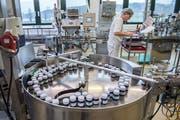 Blick in die Produktion der Bioforce in Roggwil (Bild: Urs Bucher)