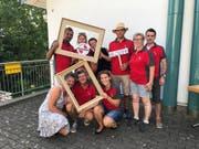Die Kultur- und Dorfgemeinschaft Mauren feierte das 25-Jahr-Jubiläum, im Bild das OK.Bild: PD