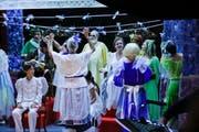 Szenenbild aus The Fairy Queen der Kleinen Oper Märstetten. (Bild: Donato Caspari (Märstetten, 29. August 2019))
