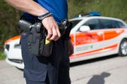 Ein Kantonspolizist hat sich beim Schiesstraining verletzt.