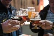 Am «Bierprobier» gibt's 170 Biersorten zum Degustieren.