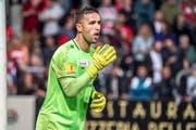 Er steht gegen Servett Genf wieder im Goal: Dejan Stojanovic (Bild: Andy Mueller/freshfocus)