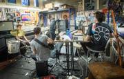 Die Band Karluk machte in der Vergangenheit immer wieder am Bandraumfestival mit - und ist auch diesmal wieder mit dabei. (Bild: Ralph Ribi - 25. September 2014)