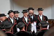 Der Eidgenössische Jodlerverband will das echte Jodellied und den urtümlichen Jodel erhalten, Jodler am Jodlerfest Wattwil. (Bild: PD)