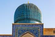 Das Gur-Emir-Mausoleum in Samarkand. Bild: Getty Images