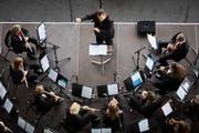 Die Harmoniemusik Kriens begeisterte mit raffinierten Stücken.
