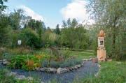 Der Schmetterlingsgarten ist der zweite Teil des Insektenpfades. (Bild: PD)