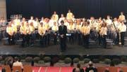 Die Jugendmusik Altdorf präsentierte zwei Stücke am eidgenössischen Jugendmusikfest in Bergdorf. (Bild: PD)