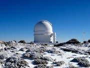 Der Exoplanet GJ 3512b wurde vom «Carmenes»-Konsortium entdeckt mit einem Teleskop am Calar Alto Observatorium in Südspanien. (Bild: Pedro Amado/Marco Azzaro - IAA/CSIC.)