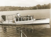 Das Unglücksschiff «Schwalbe».