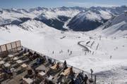 Wie viel Schnee wird auf dem Weissfluhjoch in Davos 2100 noch liegen? (Bild: EPA/Keystone)