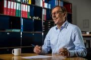 Das Büro ist bereits aufgeräumt: Felix Föhn tritt Ende September als Direktor der JVA Wauwilermoos zurück.