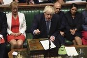 Das war nicht sehr geschmackvoll, Boris Johnson. (Bild: Keystone)