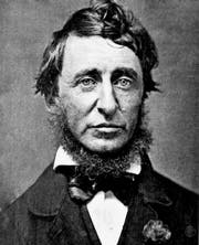 Henry David Thoreau 1856. (Bild: B. D. Maxham/wikipedia)